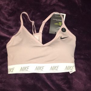 NWT baby purple sports bra NIKE with support
